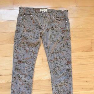 Isabel marant Etoile printed corduroy pants 2